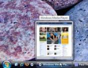 Windows Vistaの新機能 ライブタスクバー サムネイル